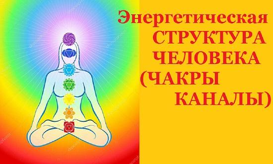 Энергетическая структура человека (чакры, каналы)